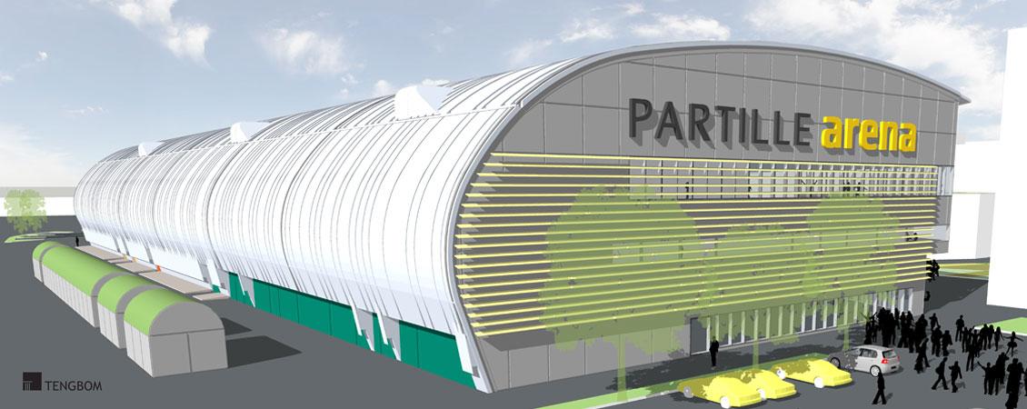 Partille Arena : Lett-Tak Systemer