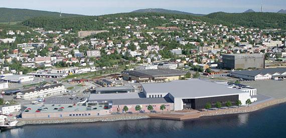 Lett-Tak på Sjøkanten kjøpesenter i Harstad