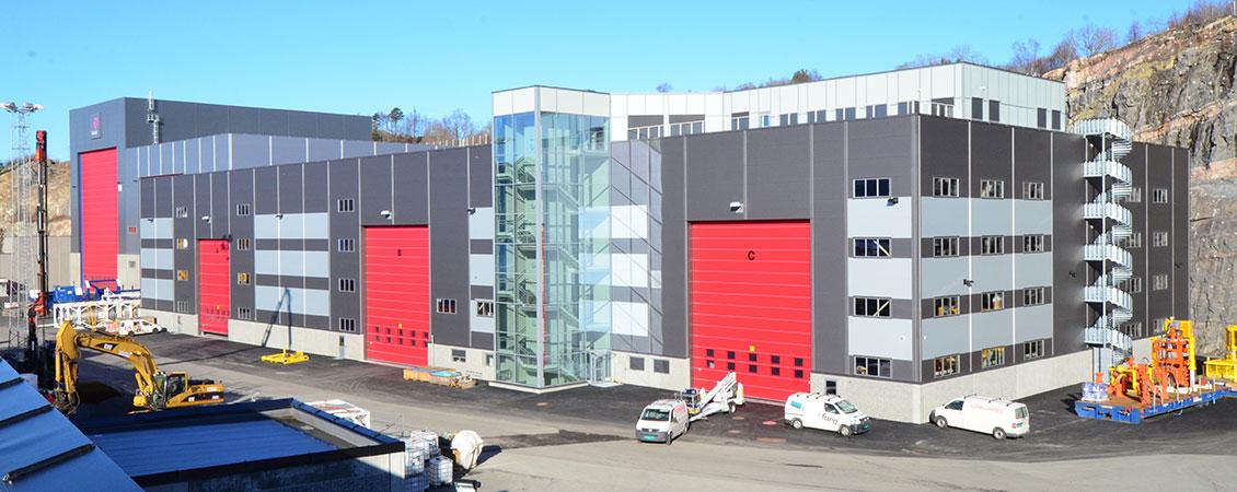 Shell Subsea Vestbase i Kristiansund : Lett-Tak