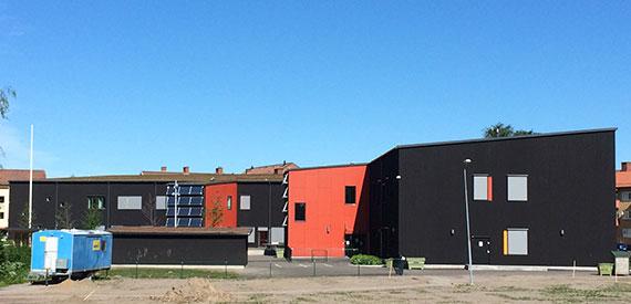 Hagaborgsskolan, Karlstad : Lett-Tak Systemer AS