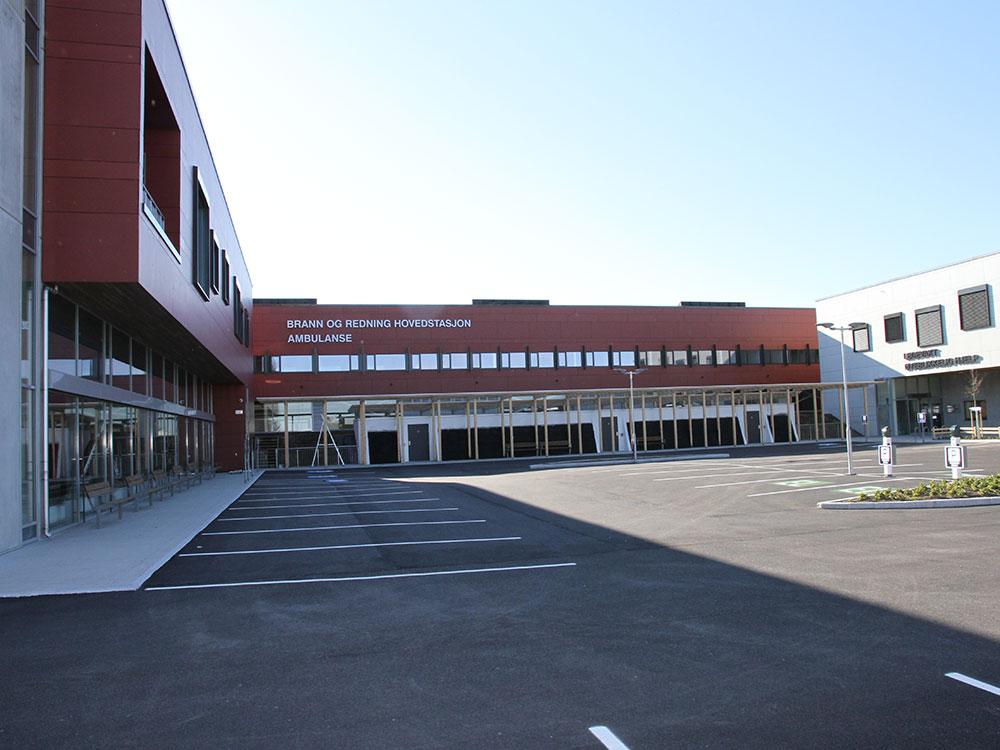 Huved Brandstationen i Sandnes, Norge
