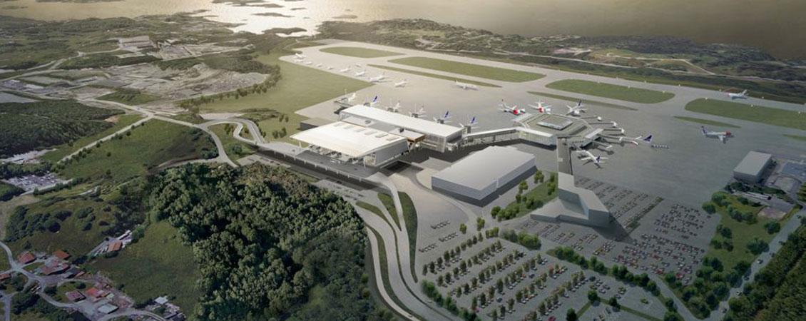 Bergen Lufthavn Flesland : Lett-Tak Systemer AS