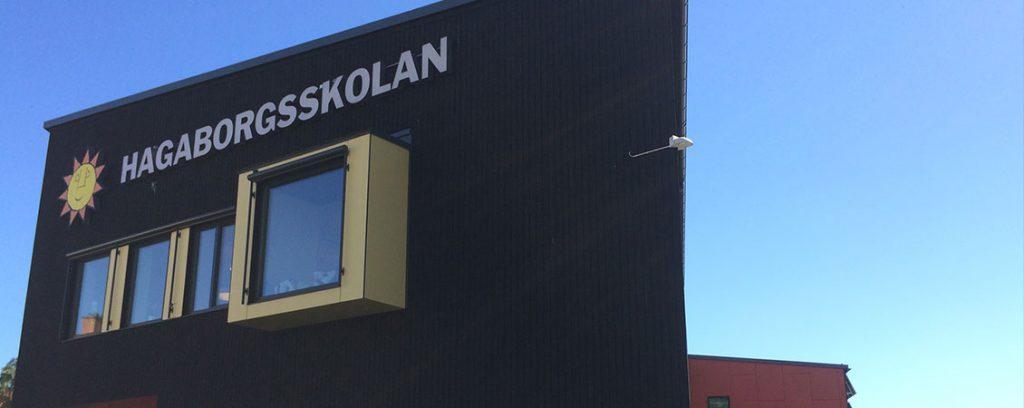 Hagaborgsskolan, Karlstad : Lett-Tak System AS