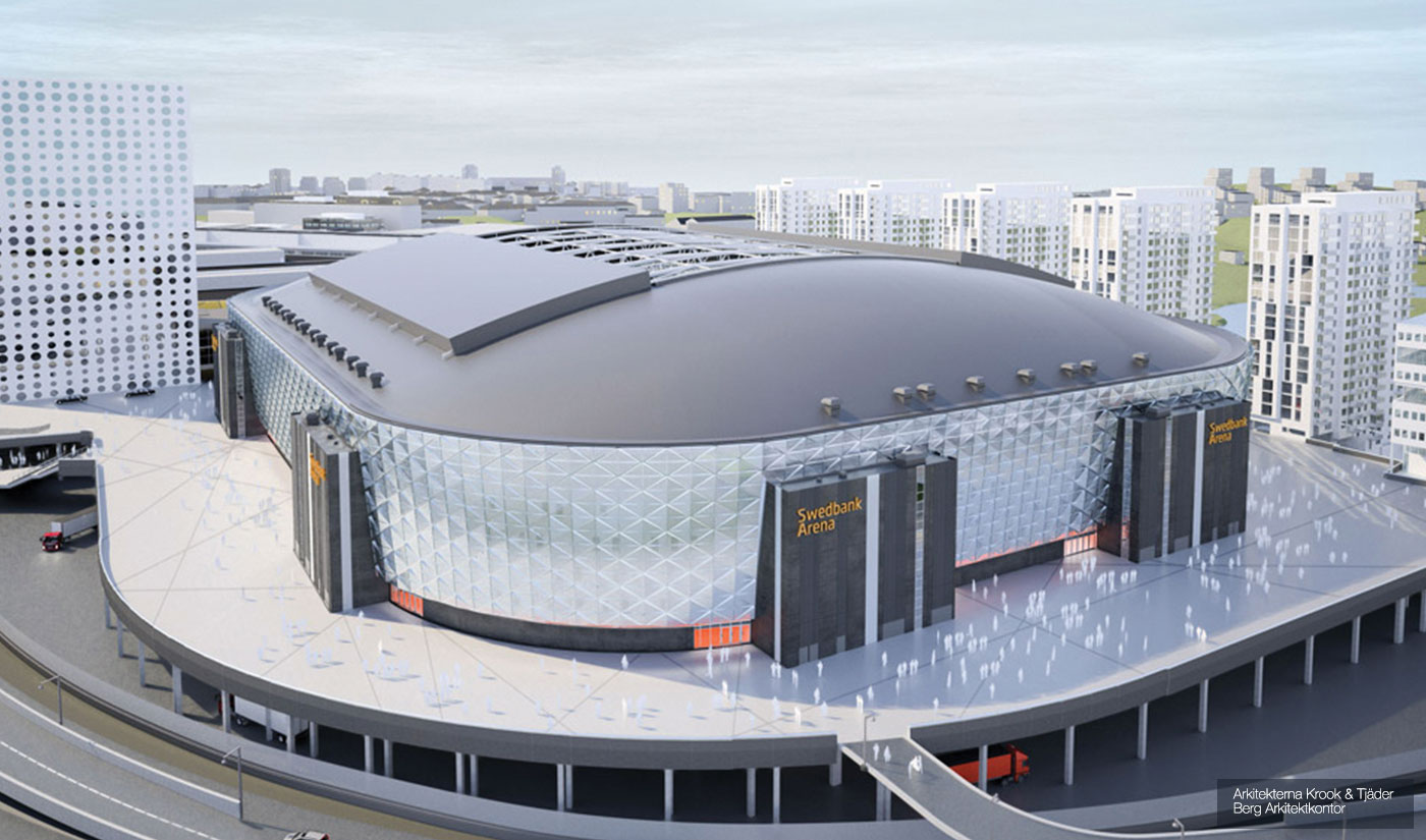 Friends Arena, Sverige