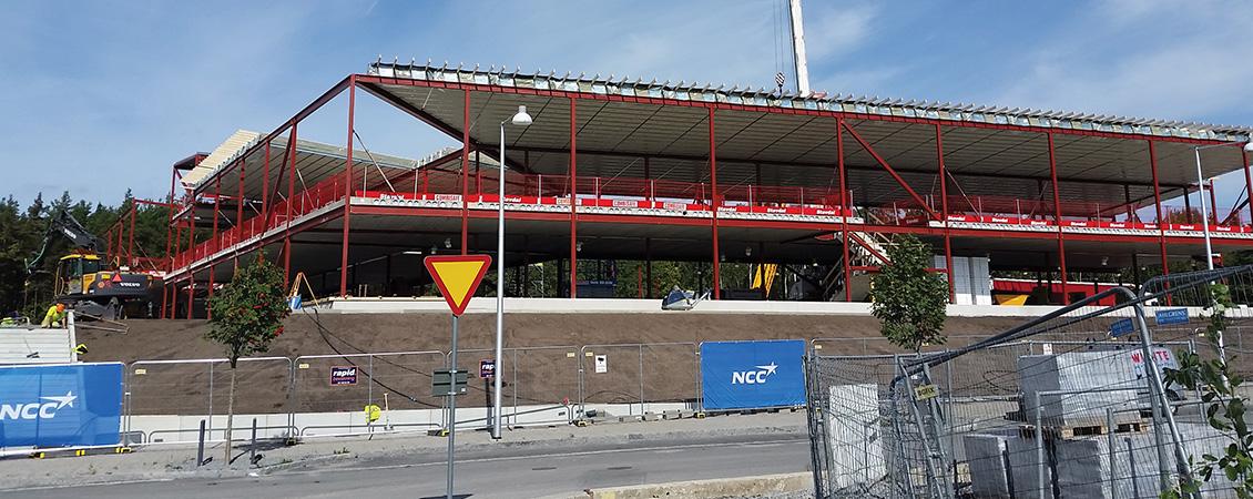 Järvstaden Skola i Stockholm : Lett-Tak